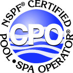 NSPF Certified Pool and Spa Operator Logo